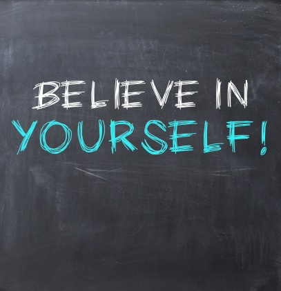set goals by believing in yourself